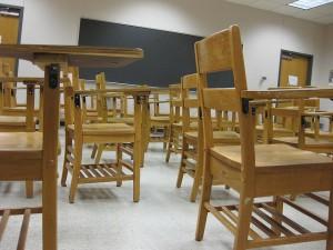 Classroom by alamosbasement