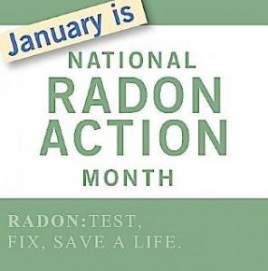 National Radon Awareness Month