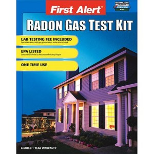 First Alert Radon testing kits