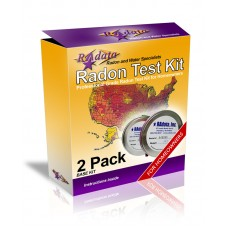 Radata radon testing kits 2 pack