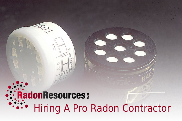 Hiring a pro radon contractor is daunting but we can help for Hiring a contractor