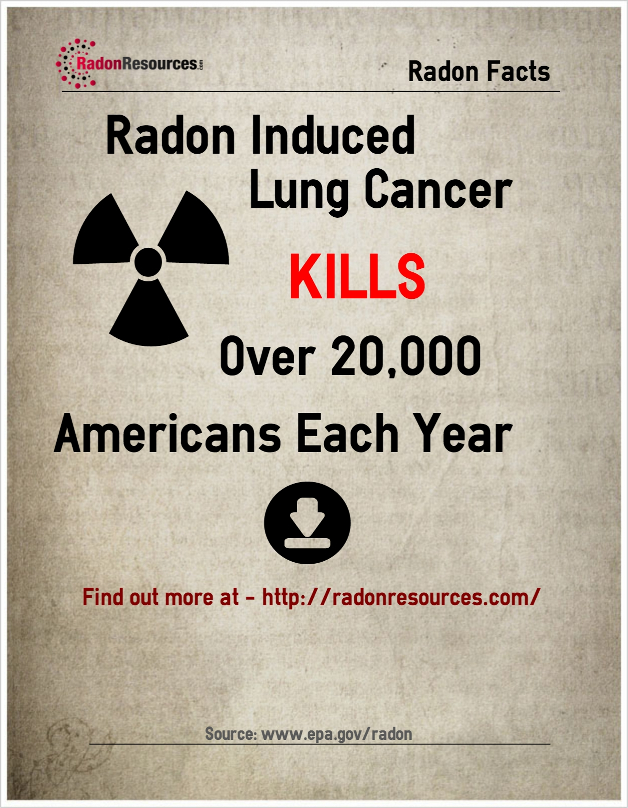 Radon Kills 20000 Americans A Year